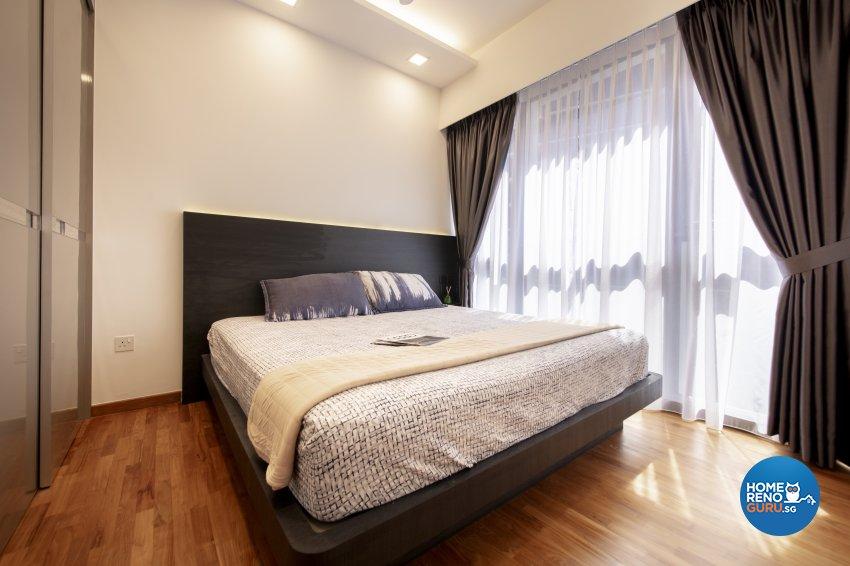 Minimalist, Modern Design - Bedroom - Condominium - Design by Starry Homestead Pte Ltd