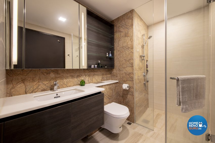 Minimalist, Modern Design - Bathroom - Condominium - Design by Starry Homestead Pte Ltd