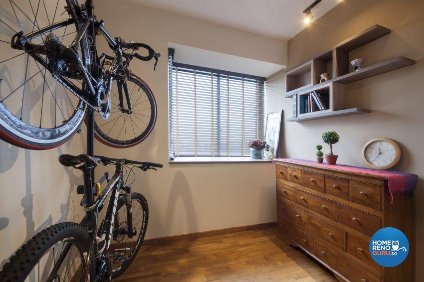 Retro Design - Living Room - Condominium - Design by Starry Homestead Pte Ltd