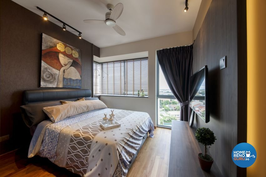 Retro Design - Bedroom - Condominium - Design by Starry Homestead Pte Ltd
