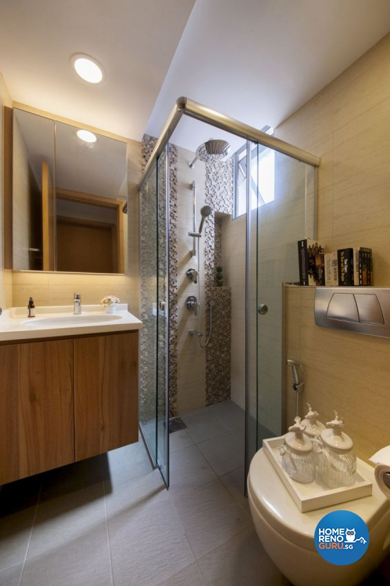 Retro Design - Bathroom - Condominium - Design by Starry Homestead Pte Ltd