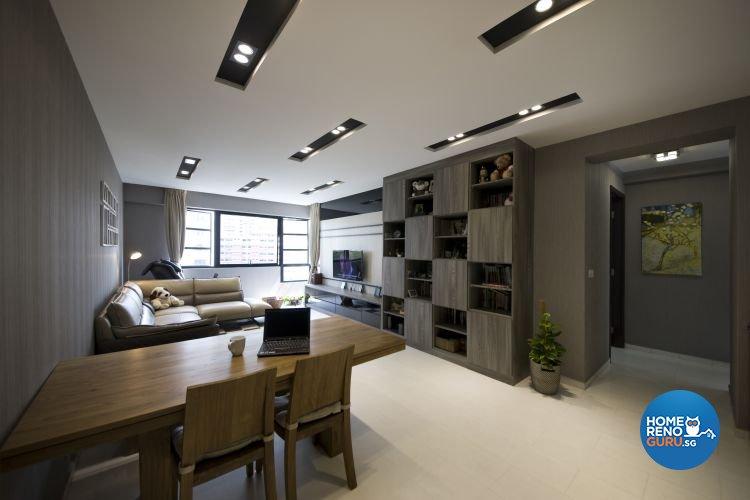 Contemporary, Scandinavian Design - Dining Room - HDB 5 Room - Design by Starry Homestead Pte Ltd
