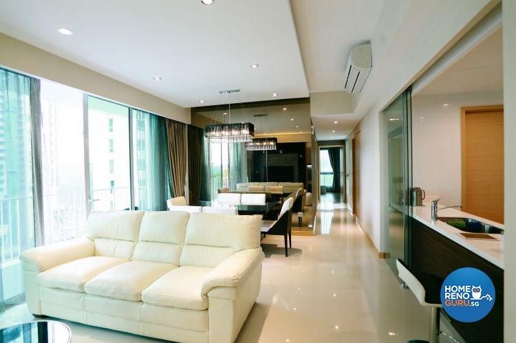 Contemporary, Scandinavian Design - Living Room - HDB 5 Room - Design by Starry Homestead Pte Ltd