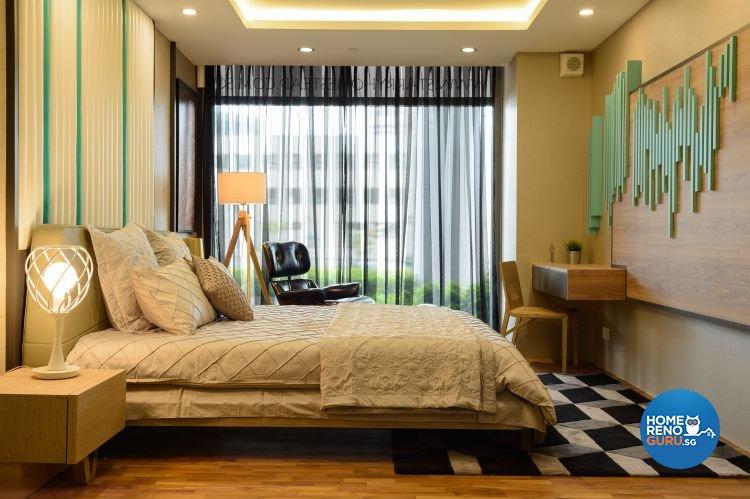 Contemporary, Scandinavian Design - Bedroom - HDB 5 Room - Design by Starry Homestead Pte Ltd