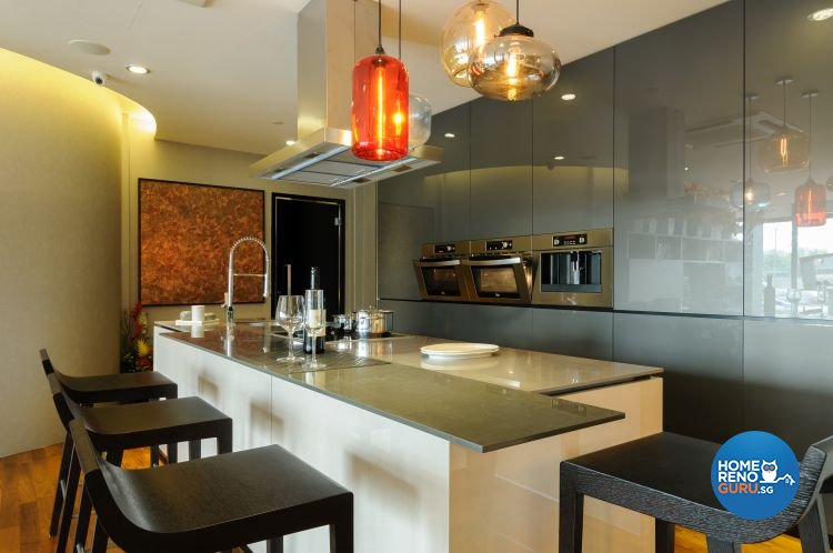 Contemporary, Scandinavian Design - Kitchen - HDB 5 Room - Design by Starry Homestead Pte Ltd