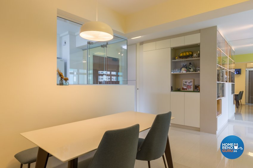 Modern Design - Dining Room - HDB 4 Room - Design by Starry Homestead Pte Ltd
