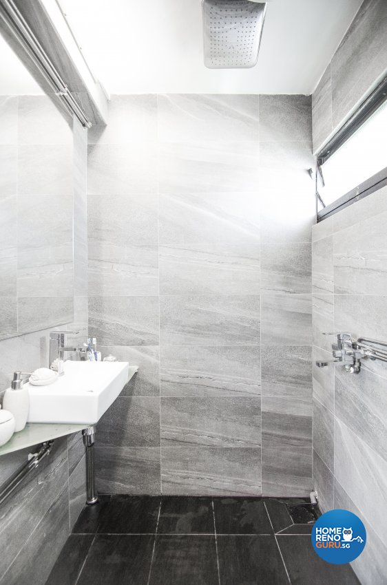 Modern, Rustic, Vintage Design - Bathroom - HDB 4 Room - Design by Starry Homestead Pte Ltd