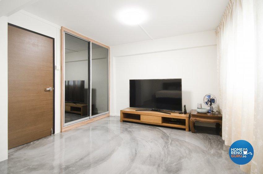 Modern, Rustic, Vintage Design - Living Room - HDB 4 Room - Design by Starry Homestead Pte Ltd