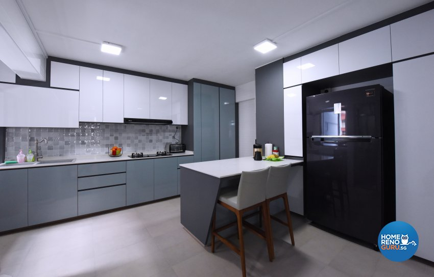 Others Design - Kitchen - HDB 5 Room - Design by Starry Homestead Pte Ltd