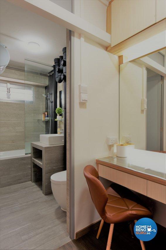 Industrial, Minimalist Design - Bathroom - HDB 5 Room - Design by Starry Homestead Pte Ltd
