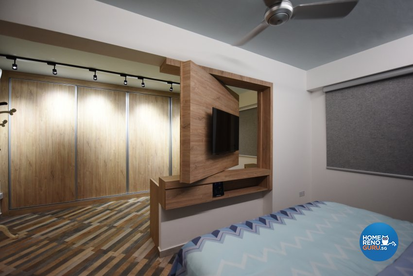 Eclectic Design - Bedroom - HDB 5 Room - Design by Starry Homestead Pte Ltd