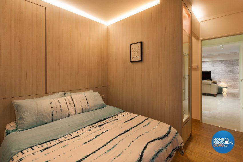 Scandinavian Design - Bedroom - HDB 5 Room - Design by Starry Homestead Pte Ltd
