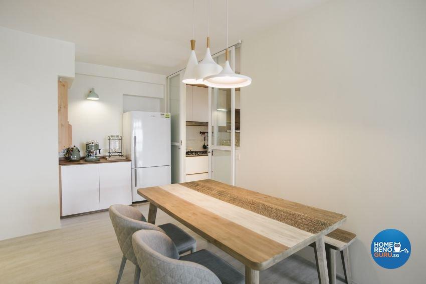 Contemporary, Minimalist, Scandinavian Design - Dining Room - HDB 5 Room - Design by Starry Homestead Pte Ltd