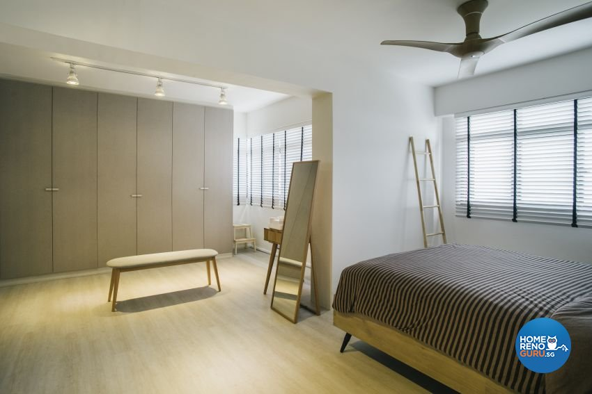 Contemporary, Minimalist, Scandinavian Design - Bedroom - HDB 5 Room - Design by Starry Homestead Pte Ltd