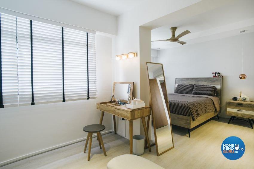 Contemporary, Minimalist, Scandinavian Design - Bedroom - HDB 5 Room - Design by Starry Homestead Pte Ltd
