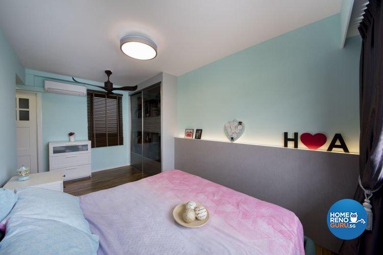 Modern, Scandinavian Design - Bedroom - HDB 5 Room - Design by Starry Homestead Pte Ltd