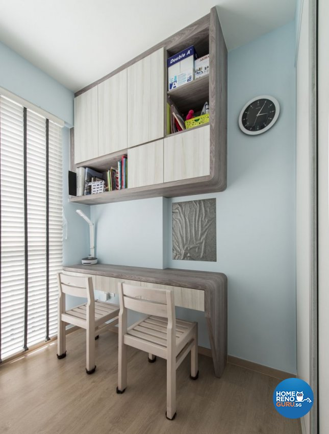 Modern Design - Study Room - HDB Executive Apartment - Design by Starry Homestead Pte Ltd