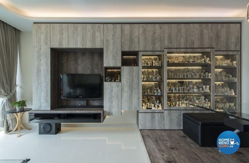 Modern Design - Living Room - HDB Executive Apartment - Design by Starry Homestead Pte Ltd