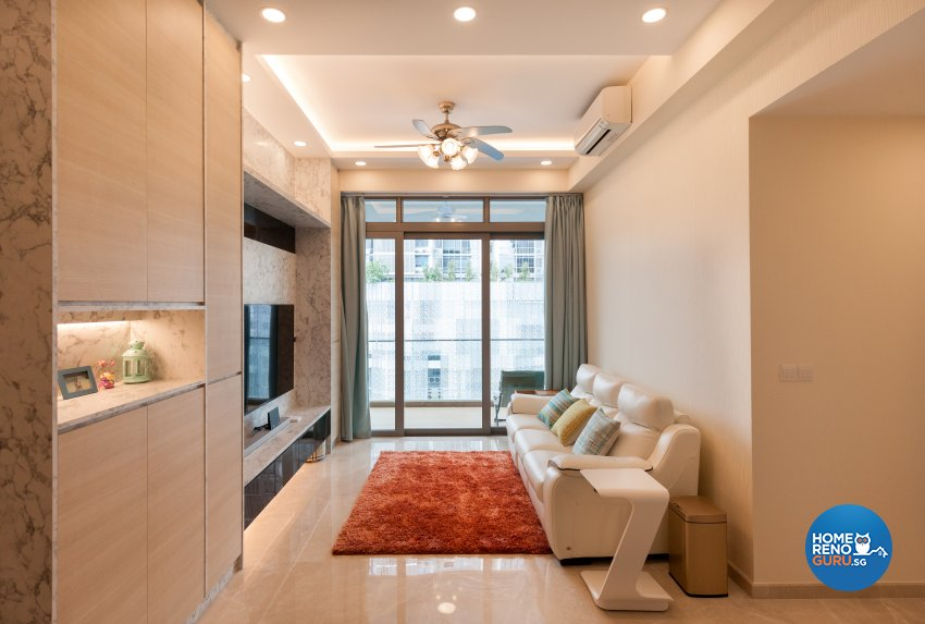 Modern Design - Living Room - Condominium - Design by Starry Homestead Pte Ltd
