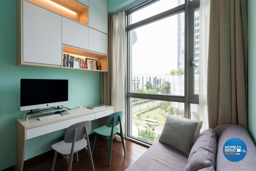 Modern Design - Study Room - Condominium - Design by Starry Homestead Pte Ltd