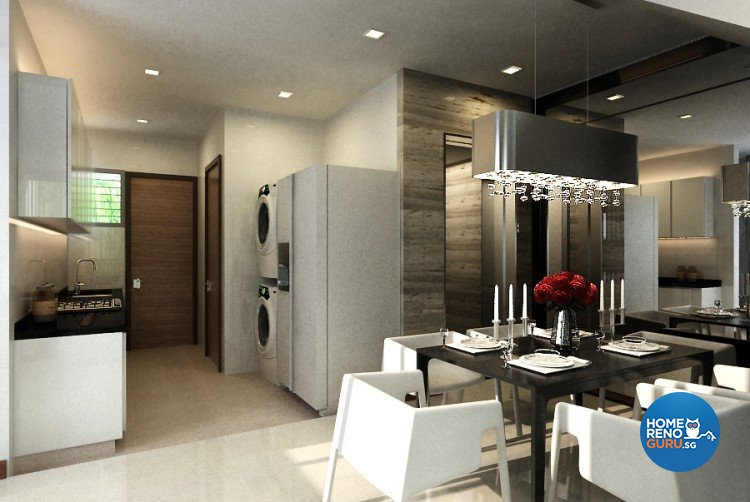 Classical, Modern Design - Dining Room - Landed House - Design by Starry Homestead Pte Ltd