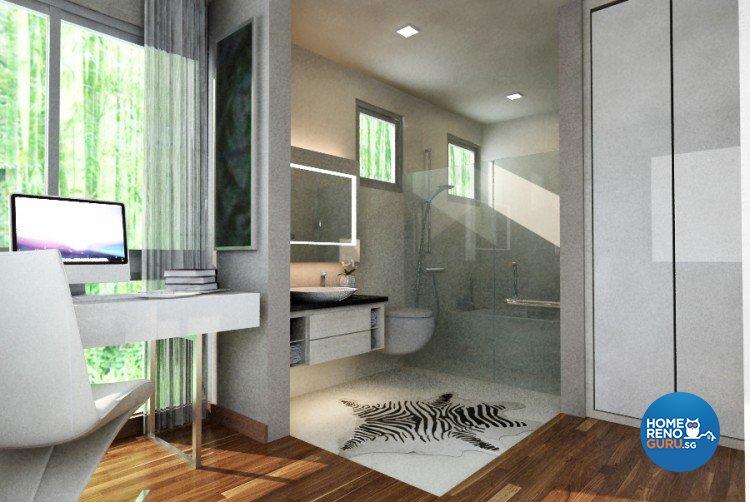 Classical, Modern Design - Bathroom - Landed House - Design by Starry Homestead Pte Ltd