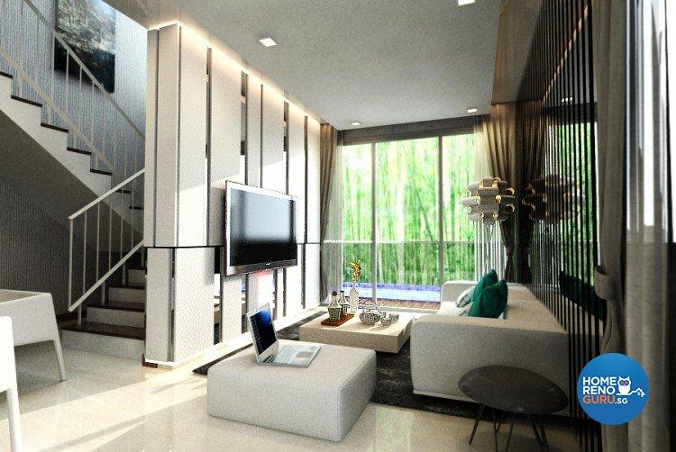 Classical, Modern Design - Living Room - Landed House - Design by Starry Homestead Pte Ltd