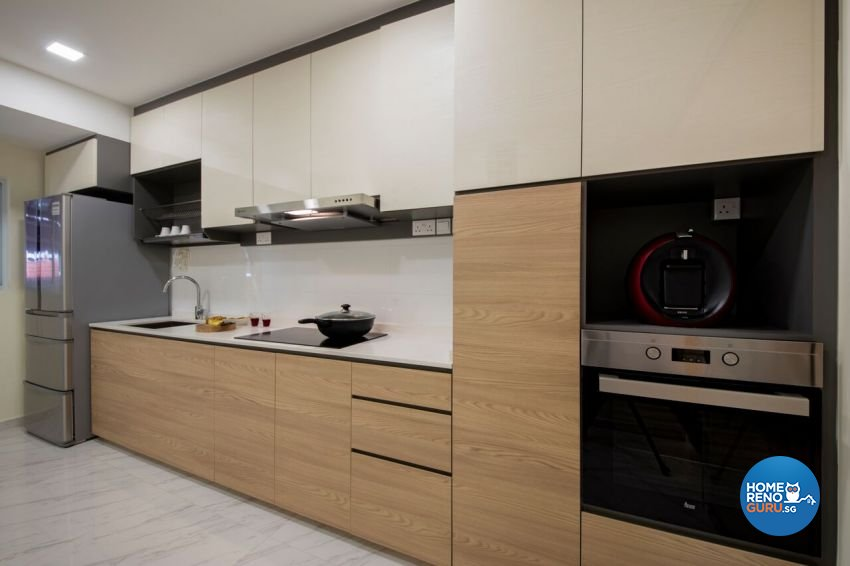 Minimalist, Scandinavian Design - Kitchen - Landed House - Design by Starry Homestead Pte Ltd