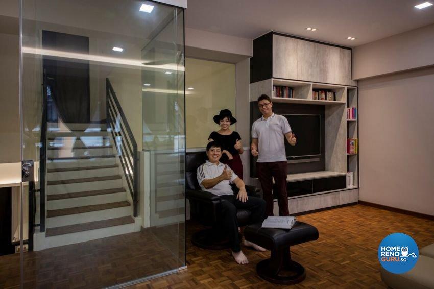 Minimalist, Scandinavian Design - Entertainment Room - Landed House - Design by Starry Homestead Pte Ltd