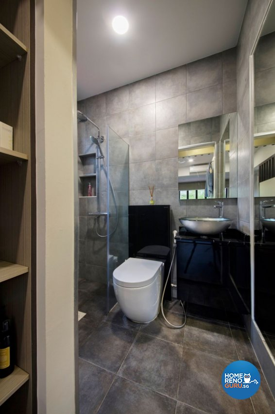 Contemporary, Resort Design - Bathroom - Landed House - Design by Starry Homestead Pte Ltd
