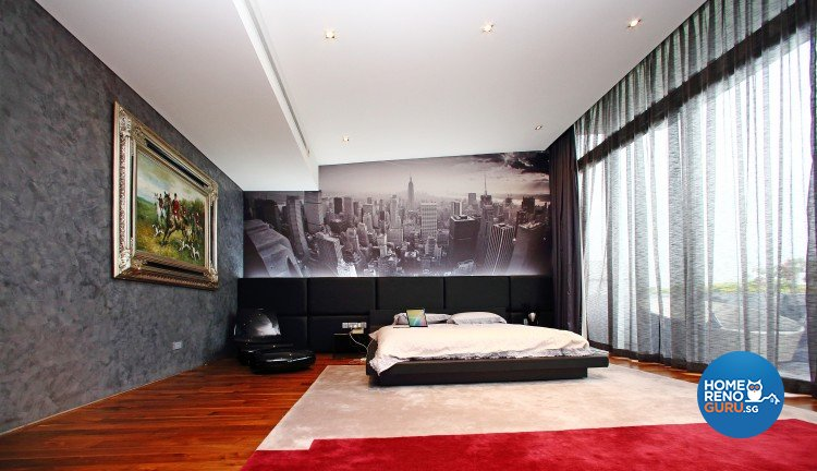Classical, Contemporary, Modern Design - Bedroom - Landed House - Design by Starry Homestead Pte Ltd