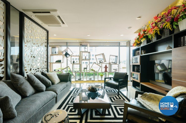 Eclectic, Modern Design - Living Room - Retail - Design by Starry Homestead Pte Ltd