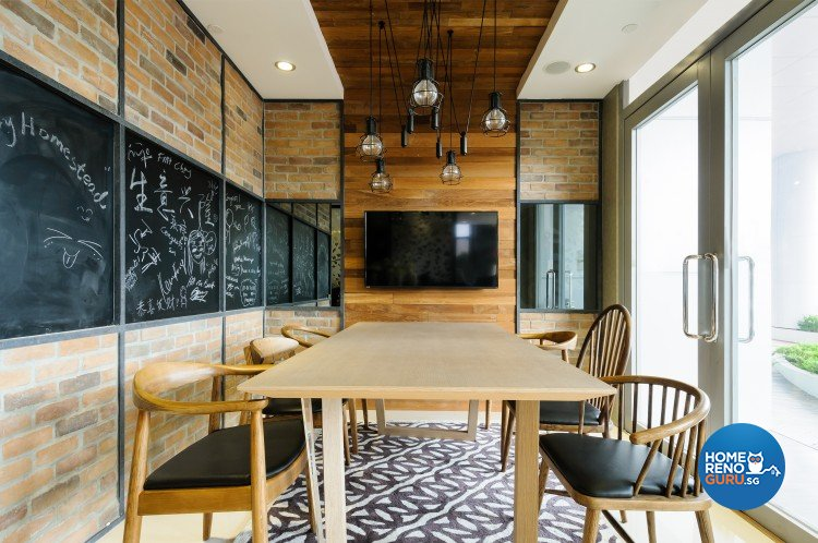 Eclectic, Modern Design - Dining Room - Retail - Design by Starry Homestead Pte Ltd