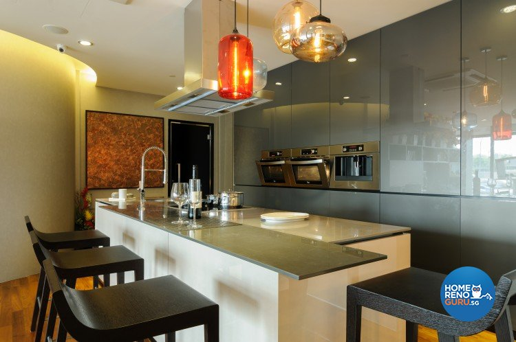 Eclectic, Modern Design - Kitchen - Retail - Design by Starry Homestead Pte Ltd