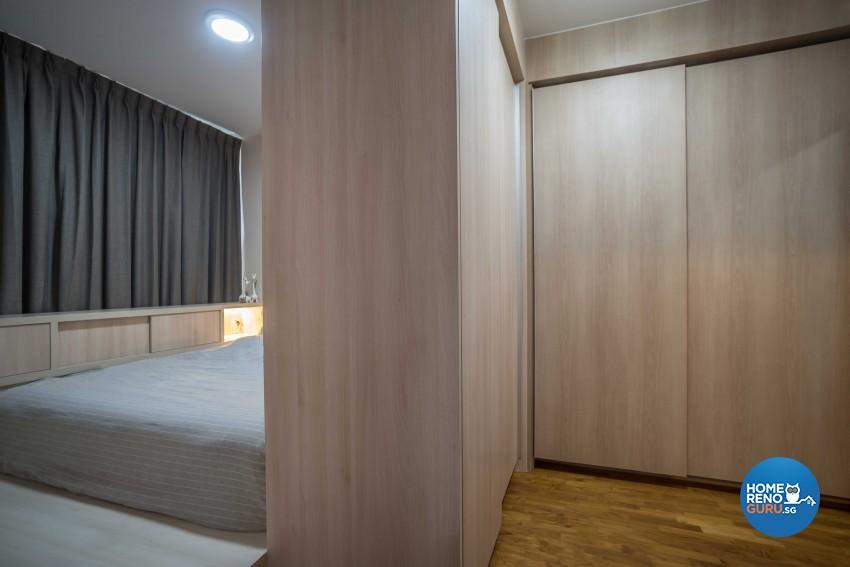 Industrial, Scandinavian Design - Bedroom - Condominium - Design by Starry Homestead Pte Ltd