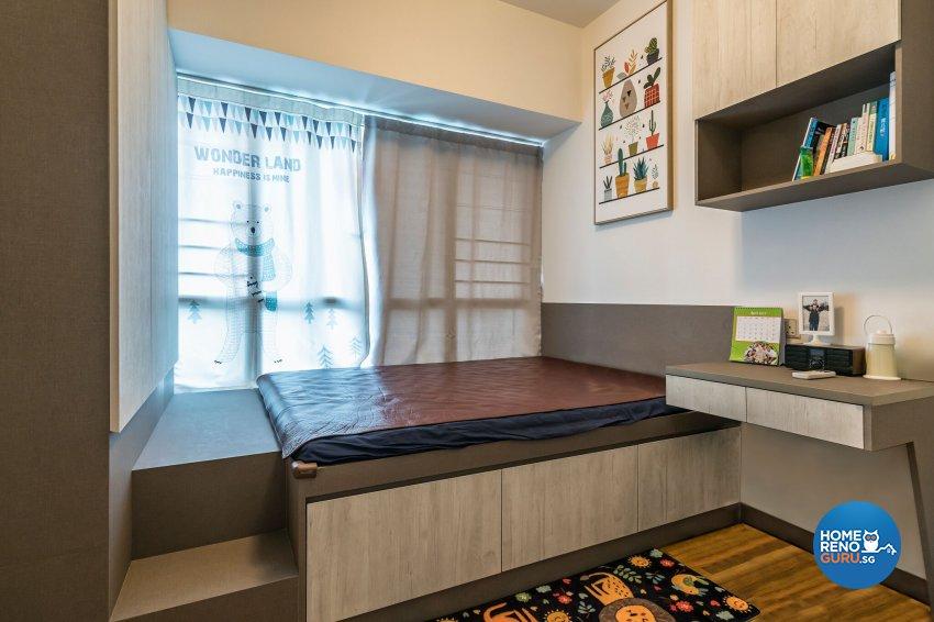 Resort, Scandinavian Design - Bedroom - Condominium - Design by Starry Homestead Pte Ltd