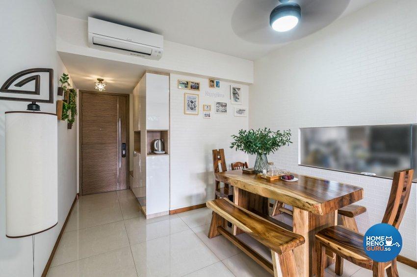 Resort, Scandinavian Design - Dining Room - Condominium - Design by Starry Homestead Pte Ltd