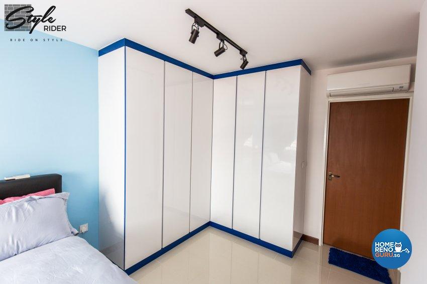 Eclectic, Modern Design - Bedroom - HDB 5 Room - Design by Stylerider Pte Ltd