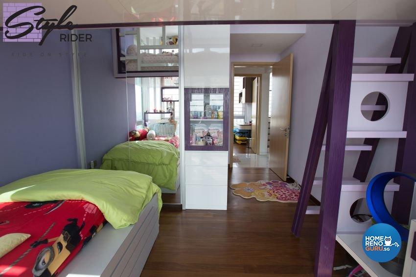 Modern Design - Bedroom - Condominium - Design by Stylerider Pte Ltd