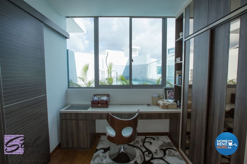 Modern Design - Bedroom - Condominium - Design by Stylerider Pte Ltd