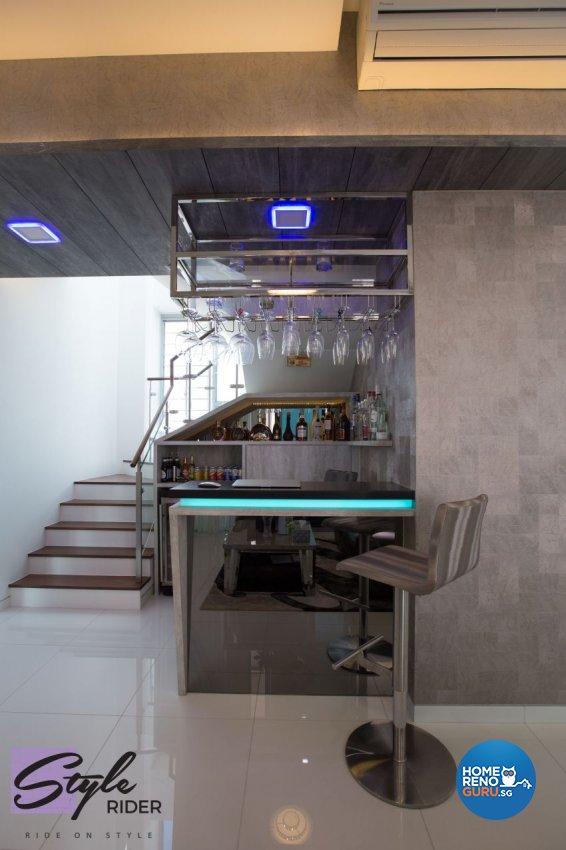 Modern Design - Living Room - Condominium - Design by Stylerider Pte Ltd