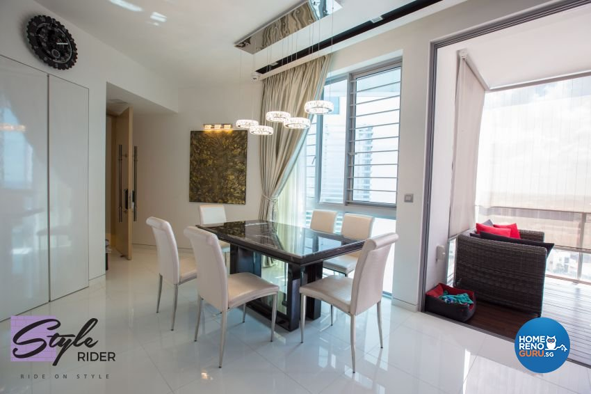 Modern Design - Dining Room - Condominium - Design by Stylerider Pte Ltd
