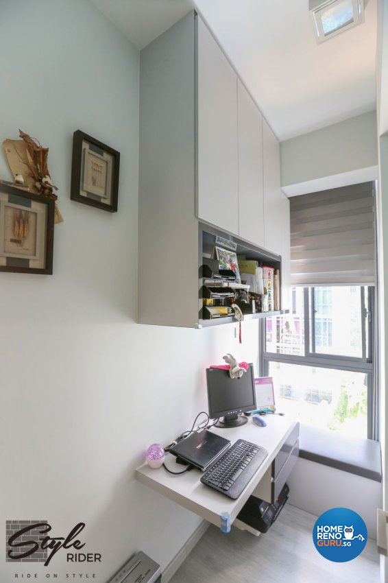 Modern Design - Study Room - Condominium - Design by Stylerider Pte Ltd