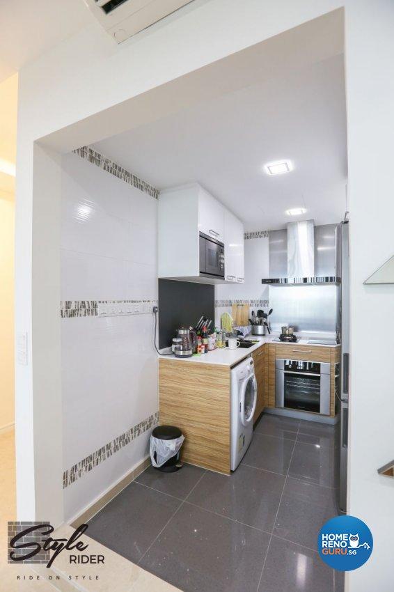 Modern Design - Kitchen - Condominium - Design by Stylerider Pte Ltd