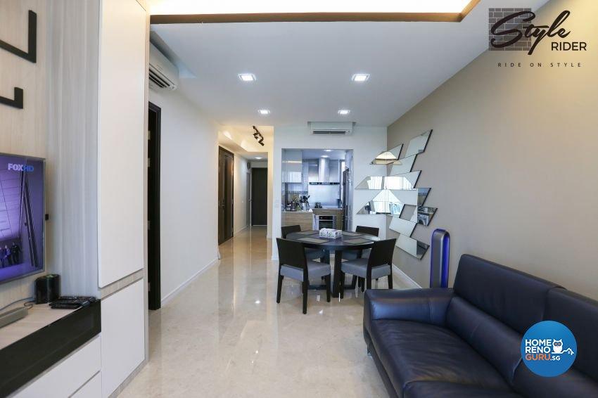 Modern Design - Dining Room - Condominium - Design by Stylerider Pte Ltd