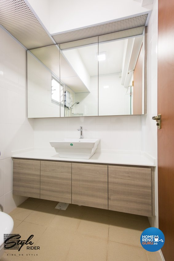 Eclectic, Modern, Scandinavian Design - Bathroom - HDB 4 Room - Design by Stylerider Pte Ltd