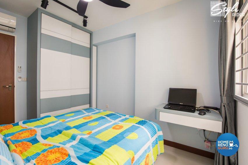 Eclectic, Modern, Scandinavian Design - Bedroom - HDB 4 Room - Design by Stylerider Pte Ltd