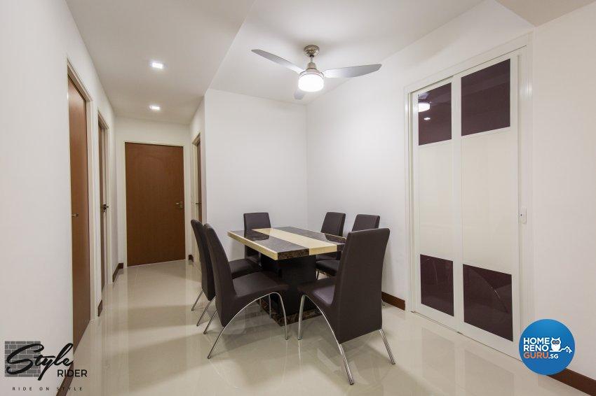 Eclectic, Modern, Scandinavian Design - Dining Room - HDB 4 Room - Design by Stylerider Pte Ltd