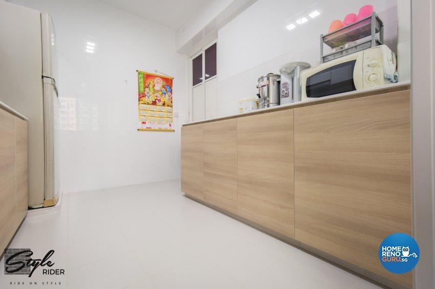 Eclectic, Modern, Scandinavian Design - Kitchen - HDB 4 Room - Design by Stylerider Pte Ltd