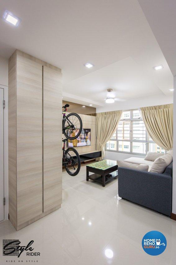 Eclectic, Modern, Scandinavian Design - Living Room - HDB 4 Room - Design by Stylerider Pte Ltd